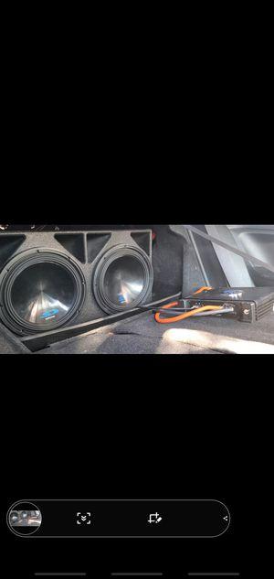 "alpine ""12"" amplifier planet audio 15000 watts for Sale in Dallas, TX"