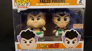 DRAGONBALL Z FAILED FUSIONS EXCLUSIVE 2 PACK for Sale in Anaheim, CA