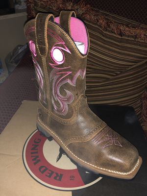 Red Wing Safety Boots for Sale in Fort Worth, TX