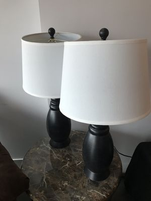 Side Table Lamps (2) for Sale in Chicago, IL