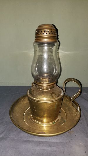 Antique Stillman's Safety Skaters Lamp w/ Finger Loop and Tray Attachment for Sale in Grand Blanc, MI