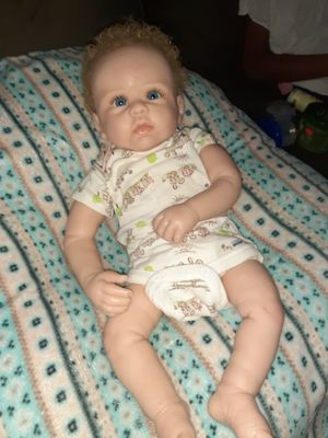 Partial silicone baby doll ashton drake for Sale in Columbus, OH