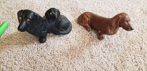 2 vintage dachshund figurine for Sale, used for sale  Aberdeen, MD