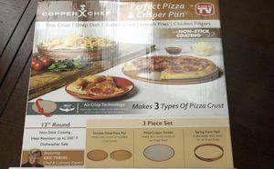 Copper Chef Pizza & Crisper Pan NEW for Sale in New Port Richey, FL