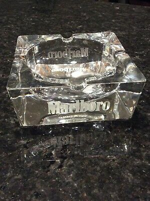 Very collectible vintage Marlboro Crystal Glass Ashtray for Sale in Issaquah, WA
