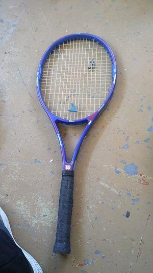 Wilson tennis racket graphite Avenger 95 high beam series for Sale in Phoenix, AZ