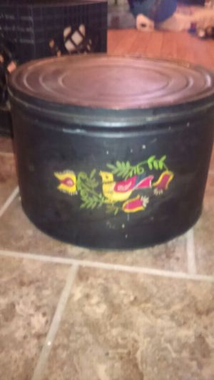 Tin storage can for Sale in St. Louis, MO