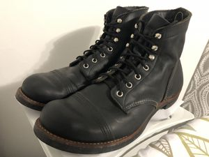 Red wing - iron ranger - boots size 10 1/2 - shoes leather boots quality redwings for Sale in Los Angeles, CA