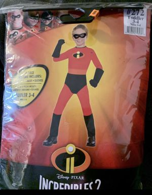 Toddler Dash Costume/The Incredibles for Sale in Los Angeles, CA