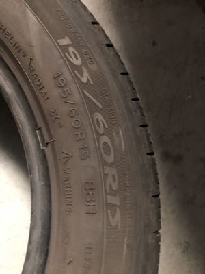 Very nice pair of 2 Michelin 195/60/15 asking $40 each Installed including for Sale in Chicago, IL