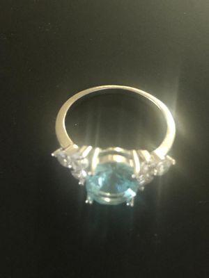 Sterling Silver Topaz Ring for Sale in Las Vegas, NV