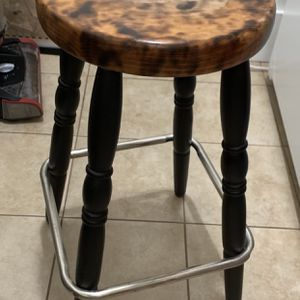 Wooden Counter Stools: Set Of 2 for Sale in San Francisco, CA