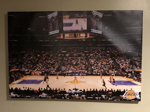 Authentic Lakers Court Picture for Sale in Cheltenham, PA