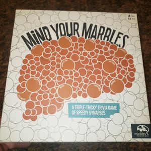 Mind your marbles board game for Sale in Evesham Township, NJ