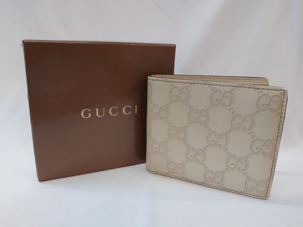 Real GUCCI mens wallet