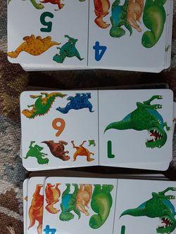 Dinosaur Domino Cards for Sale in Lake Stevens,  WA