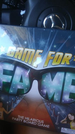 Brand new never opened game for fame for Sale in Riverside, CA