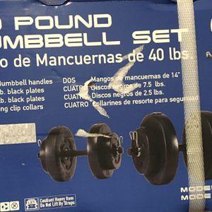 Dumbbells - 40 Pounds for Sale in Fremont, CA