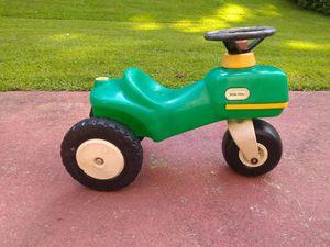 Little tikes john deere look alike tractor ride-on toy for Sale in Lawrenceville, GA