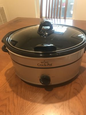 Crock-Pot 7qt Manual Slow Cooker - Silver SCV700-SS for Sale in Fairfax, VA