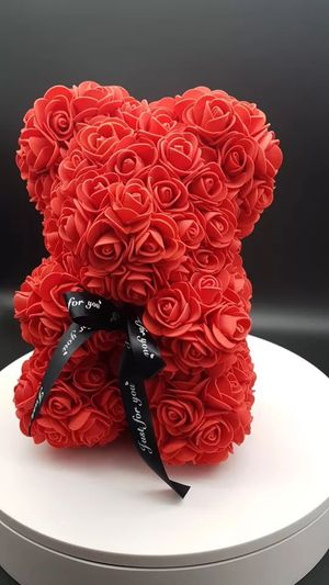 Red rose teddy bear for Sale in Flossmoor, IL