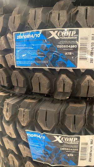 """NEW UTV Gladiator TIRES 28"""" for Sale in Yorba Linda, CA"""
