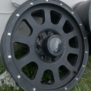 20x10 8x170 F250/F350/excursion wheels need gone $420 or best offer need gone or trade for Sale in Miami, FL