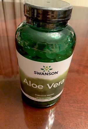 ALOE VERA 300 soft gels. Sealed new bottle for Sale in Pembroke Pines, FL