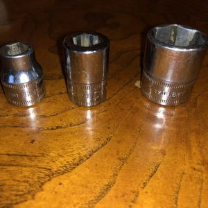 "(3) Snap-on 3/8"" Drive Assorted Sockets for Sale in Aberdeen, WA"