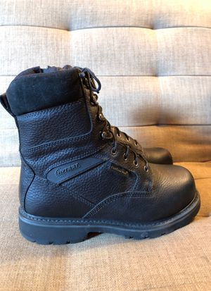 Hytest Safety work boots. Steel Toe. Mens size 9. for Sale in Farmington Hills, MI