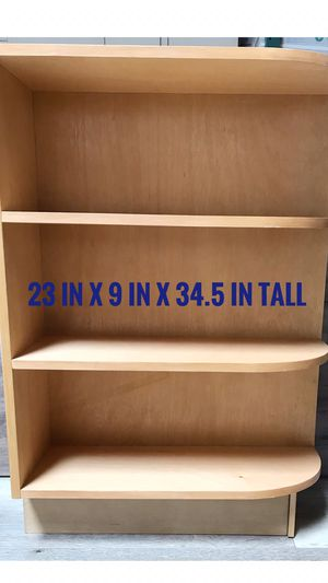 New maple kitchen cabinet end shelf 23 in width x 9 in deep x 34.5 in tall for Sale in Ontario, CA