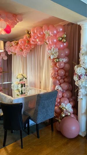 Pink Balloon Garland (party decoration) for Sale in Garrison, MD