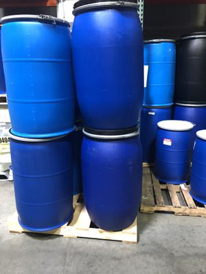 55 gallon drums $5 each for Sale in Aurora, CO