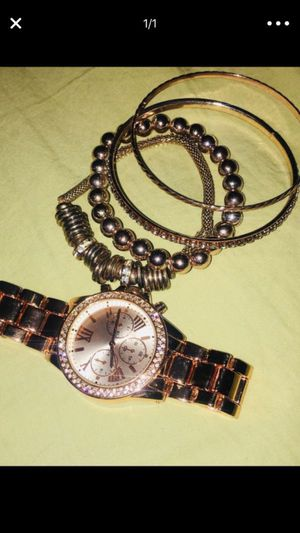 Watch and bracelets for Sale in Laveen Village, AZ