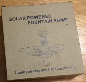 Viajero Solar Powered Fountain Pump for Sale in Canton, MI