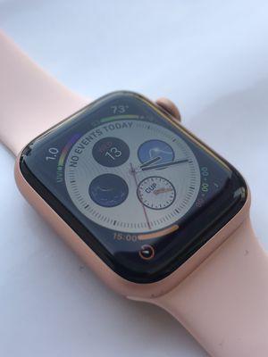 Apple Watch Series 4 ( 40mm ) GPS+ Cellular Gold Aluminum Plus Apple Warranty for Sale in Hacienda Heights, CA
