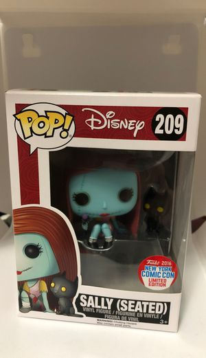 Pop! Disney. Sally ( seated ) 2016 NYCC. Limited Edition. #209 for Sale in Valrico, FL