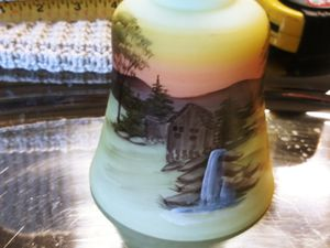 Collectable fenton vintage glass handpainted for Sale in Marysville, WA