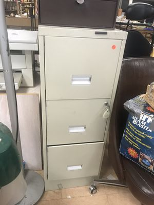 File cabinet with a key-lock for Sale in Portland, CT