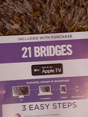 Digital code for apple for Sale in Glendale, AZ