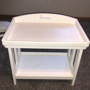 Bitty Baby Doll Changing Table for Sale in Cottage Grove, MN