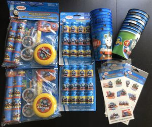 Thomas and Friends birthday party pack for Sale in Hialeah, FL