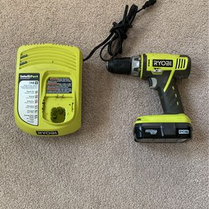 Ryobi Cordless Drill Battery And Charger for Sale in Suwanee, GA