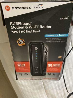 Modem and WiFi router for Sale in Washington, DC