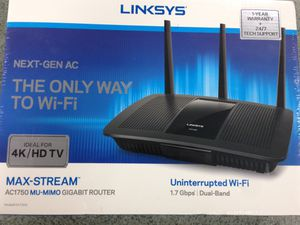 Linksys AC1750 MU-MIMO Gigabit Router - WiFi and Wired for Sale in Covina, CA