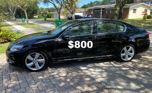 Full Price $8OO Lexus GS 2010 Immaculate condition for Sale in Oklahoma City, OK