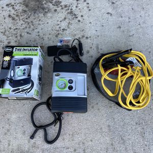 Air pump and jumper cables for Sale in West Palm Beach, FL