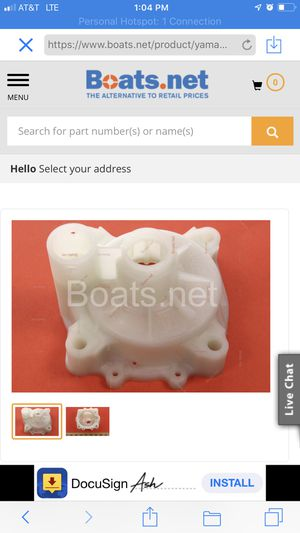 Yamaha water pump for boat motor for Sale in Spring, TX