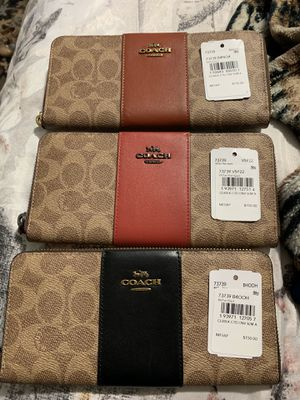 Coach wallets each one is $70 for Sale in Gresham, OR