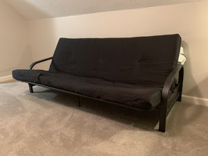 Futon couch with mattress $50 O.B.O for Sale in Cumming, GA